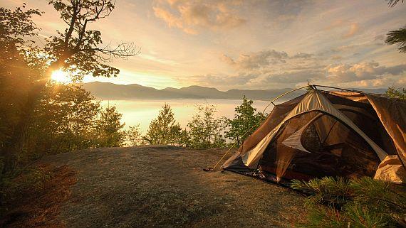 Отдых с палатками в окрестностях Петербурга